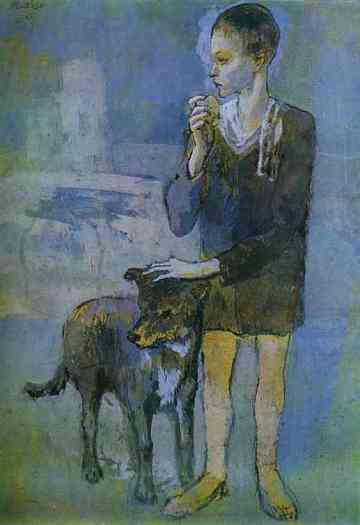 picaso-boy-with-dog